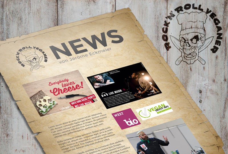 Die Rock 'n Roll Veganer NEWS